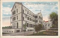 Mobile, ALABAMA - Spring Hill College - Main Building - ARCHITECTURE