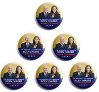 Joe Biden / Kamala Harris Campaign Button set of 6 (BH-001-X6)