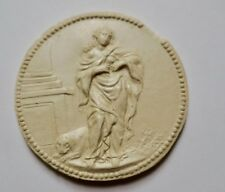 Médaille en plâtre  30 mm
