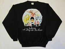 QUEEN  :  VINTAGE 1976  ' A DAT AT THE RACES '  OFFICIAL SWEATSHIRT