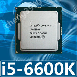 Intel Core i5-6600K Processor 3.5GHz LGA 1151 SR2BV 4-Core 6M 91W  CPU Processor
