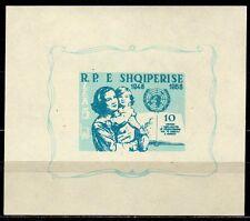 #359 - Albania - Foglietto Diritti dell'uomo, 1959 - Nuovo (** MNH)