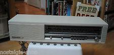 Original 60er 70er Nordmende Radio White Wood Panelling True Vintage 60s 70s