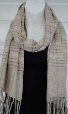 Cashmere Scarf Shawl Pashmina Soft Wool Winter Warm Wrap 165x30cm Nepal EU3003