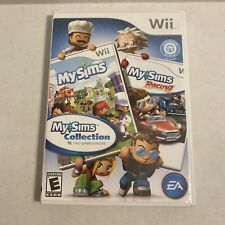 New listing My Sims Collection My Sims & My Sims Racing (Nintendo Wii, 2010) Complete