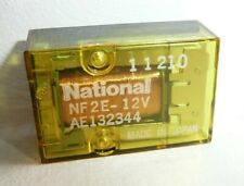 10 x National NF-Relay NF2E - 12V Cube Relays 9 Pin