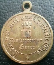✚6508✚ German medal Franco-Prussian War Iron Cross 1870 1871 combatant MINIATURE