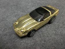 Ideal Slam Shifters C.B.S. 1984 Gold Plated Corvette Car RARE