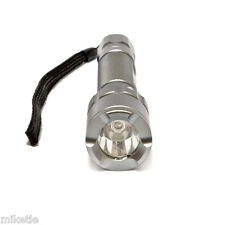 New Scuba Diving Flashlight with 100%,50%, SOS and Strobe 3W 160Lum