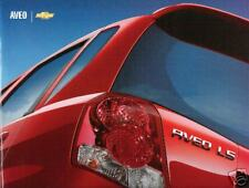 Mint Condition 2004 Chevrolet  AVEO Brochure  '04 chevy