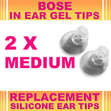 2x Sostituzione MEDIUM EAR GEL suggerimenti per Bose TriPort Earphone Cuffie interni Canal