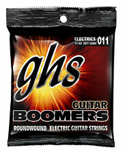 GHS GBM Boomers Roundwound Electric Guitar Strings 11-50