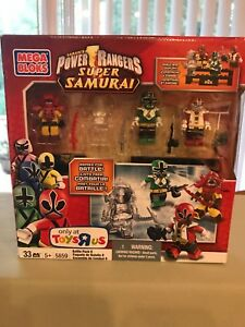 Mega Bloks Power Rangers Super Samurai Battle Pack #5859 NIP
