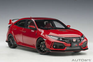 AUTOart 1:18 Honda Civic Type R (FK8) FLAME RED, BRAND NEW