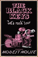 THE BLACK KEYS | MODEST MOUSE Let's Rock 2019 Ltd Ed New RARE Tour Poster!