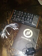 moog mother 32, tabletop, semi modular, analog synthesizer. mint cond.