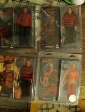 NECA Nightmare on Elm Street 1 2 3 Video game Set FREDDY KRUEGER retro doll toy