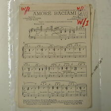 combo / dance band parts AMORE BACIAMI arr burnell whibley
