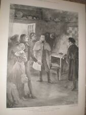 Play A Cigarette Maker's Romance at the Court Theatre London 1901 print ref AY
