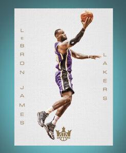 2019 Court Kings Blank Slate -LEBRON JAMES (Panini NBA Dunk App digital Card