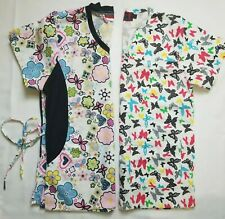 Beverly hills and Denice uniforms. Lot of 2 pieces. Size S. Pre-owned.