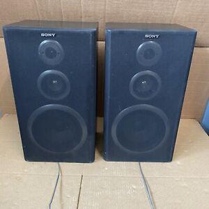 Sony 3 Way Speakers Hi-Fi Stereo - Black