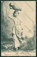 Palermo Costumi Siciliani cartolina QQ0891
