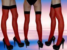 Halterlose Damen-Strümpfe aus Nylon für die Freizeit