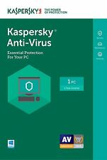 Fast Kaspersky Antivirus 1 PC  2019 1 year