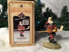 NEW FLAMBRO HERITAGE 1943 CHICAGO BLACKHAWKS 7006 NHL FIGURINE WITH ACCESSORIES