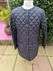 Uniqlo Ultra Light Down Quilted Collarless Coat XL Black