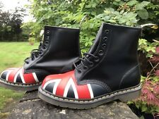 Dr Martens Black Union Jack 10950001 8 Eye Boot U.K. 8 US 9 EU 42