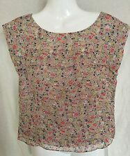 Topshop Chiffon Semi Fitted Blouses for Women