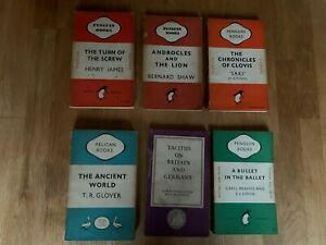Penguin Books - Penguin & Pelican Specials - six 1940s (3D30)