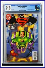 Superman Batman #6 CGC Graded 9.8 DC March 2004 White Pages Comic Book