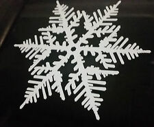 Frozen Snow Flake Vinyl cut Wall Car Boat Sticker 100×100mm aussie made & design