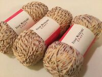 3 SKEINS YARN BY ISAAC MIZRAHI! JULLIARD 3 OZ / 157 YDS ACRYLIC /WOOL/POLAMIDE