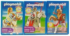 Ritter Christopher colección Limited Edition Playmobil 3800 + 3699 + 5477 OVP nuevo