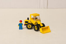 Lego 6658 Bulldozer per Movimento Terra con Operaio Città Legoland Town (1986)
