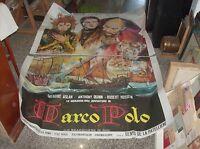 Die Wunderbaren Abenteuer Von Marco Polo Manifesto 4F Original 1965