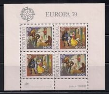 Portugal  1979  Sc #1424a  Europa  s/s  MNH  (41086)