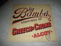 Cheech And Chong Big Bambu Record Album Vinyl 1972