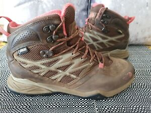 THE NORTH FACE HEDGEHOG HIKE MID GTX BOOTS LADIES SIZE UK7.5 EUR40.5 GENUINE