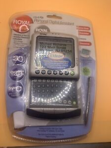 Vintage Royal Info To Go EZ Vue 6 PDA personal Digital Assistant New Sealed