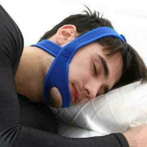 Anti Snore Chin Jaw Strap Belt Stop Snoring Sleep Apnea Support Solution T5G2