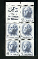US Stamps # 1213 VF 5 Line Zone Pane OG NH