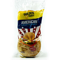 Golden Toast American Mega-Burger Brötchen XXL 300 g - Burgerbrötchen mit Sesam