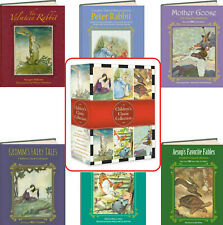 Children's Classics Velveteen Rabbit,Peter Rabbit, Mother Goose...(6 Hardcovers)