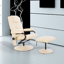 HOMCOM Massagesessel Relaxsessel Fernsehsessel TV Sessel Massage + Heizfunktion