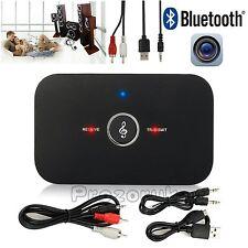 HIFI Wireless Bluetooth Audio Transmitter&Receiver RCA 3.5MM Music 2 in1 Adapter